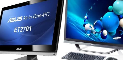 Windows 8: PC all-in-one da ASUS e Samsung