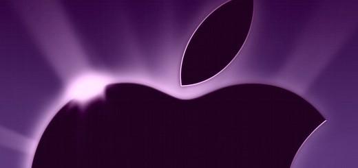 Apple in viola