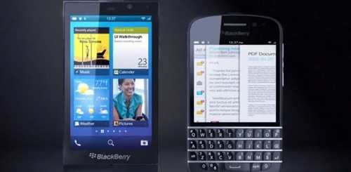 BlackBerry L e BlackBerry N