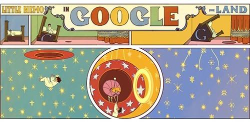 Winsor McCay e Little Nemo, Google doodle