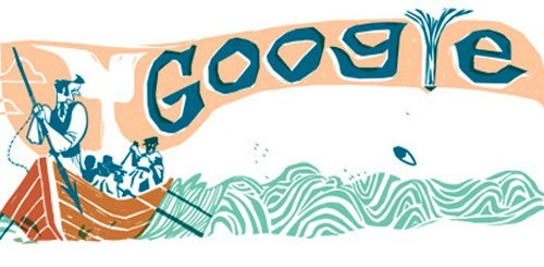 Moby Dick, Google doodle