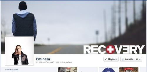 Eminem su Facebook