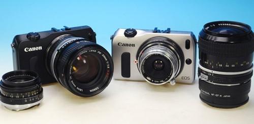 Canon EOS M, adattatore