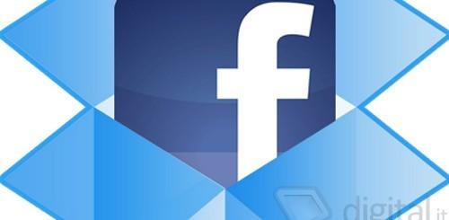 Facebook e Dropbox
