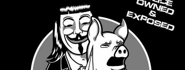 Anonymous Polizia