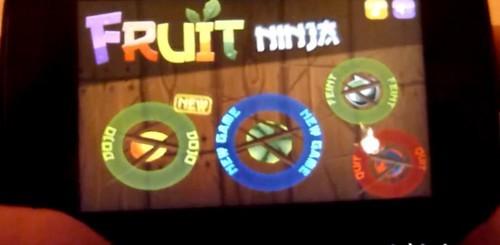 Fruit Ninja su MeeGo con Apkenv