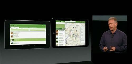 iPad Mini e Phil Schiller