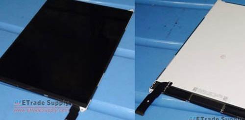iPad Mini, foto dello schermo.