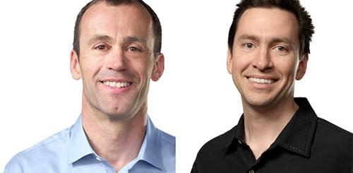 John Browett e Scott Forstall