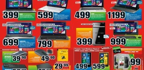 Mediaworld lancia il nuovo volantino con i nuovi prodotti Windows 8