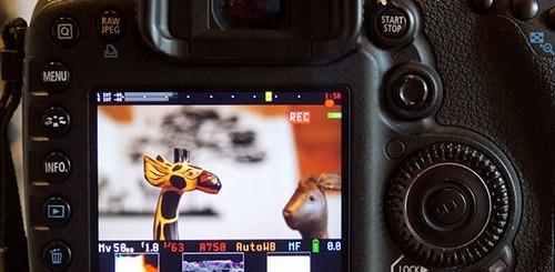Magic Lantern sulla Canon EOS 7D