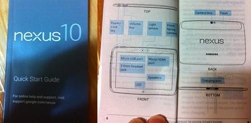 Nexus 10, manuale