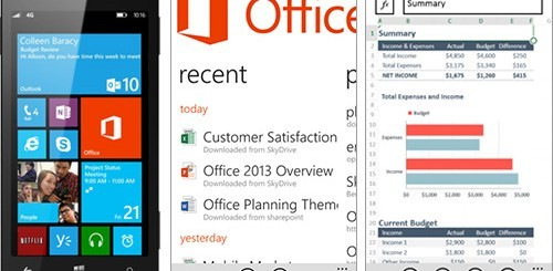 Microsoft Office per Windows Phone 8