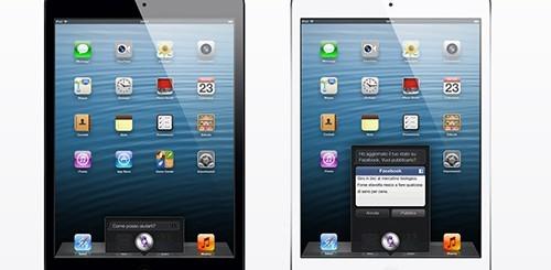 Siri su iPad Mini