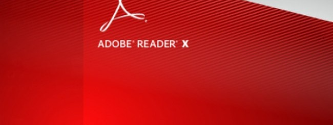 Adode Reader X