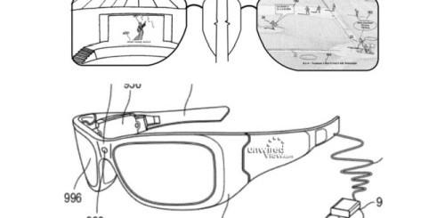 Brevetto occhiali Microsoft