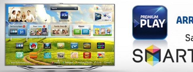Premium Play su Smart TV Samsung