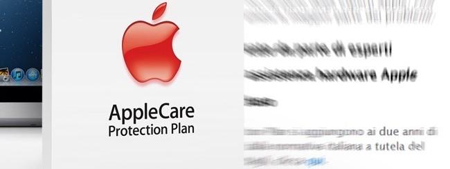 AppleCare rispetta i 2 anni di garanzia