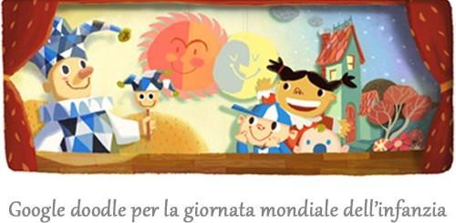 Giornata mondiale dell'infanzia, Google doodle