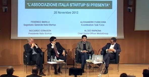 Italia Startup conferenza