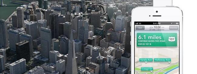 Mappe su iOS 6