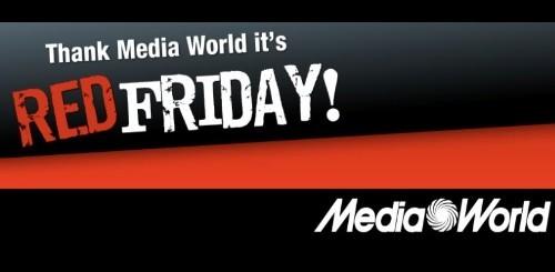 Mediaworld Red Friday: tanti sconti solo per oggi