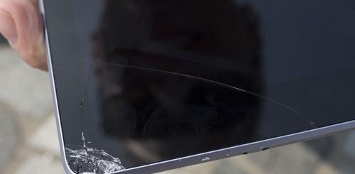 iPad mini vs. Nexus 7, crash test