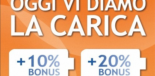 Wind: sino al 20% di bonus omaggio per le ricariche via Facebook