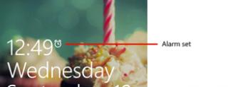 Windows Phone 8 Start e Lock screen, immagini