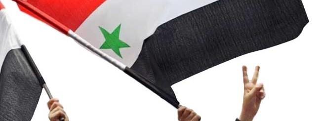 Siria bandiere