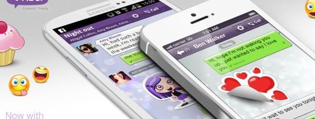 Viber per Android e iOS