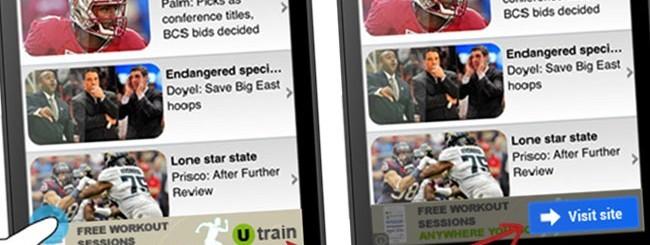 Android, annunci pubblicitari in-app