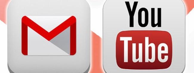 Gmail e YouTube per iOS