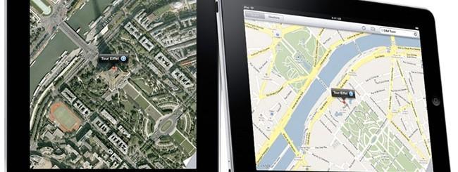 Google Maps su iPad