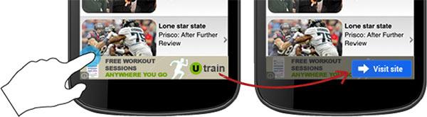 Ecco cosa succederà premendo accidentalmente su un'inserzione pubblicitaria in-app