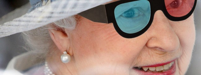 Regina Elisabetta in 3D