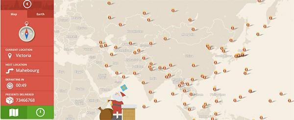 Segui Babbo Natale con Google