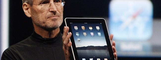 Steve Jobs con iPad