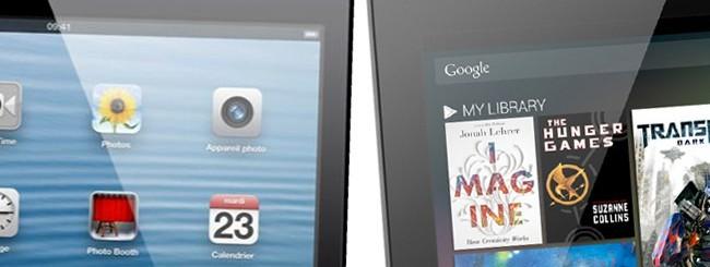 iPad mini e Nexus 7