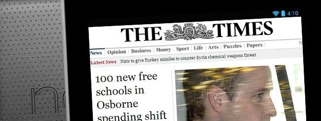 The Times sul Nexus 7