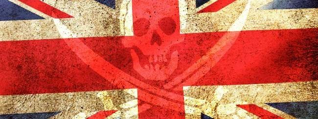 La pirateria nel Regno Unito