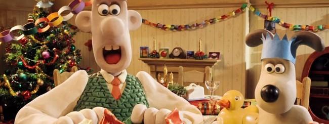 Google+, hangout di Natale con Wallace & Gromit