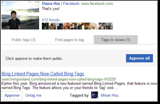 Bing Tags