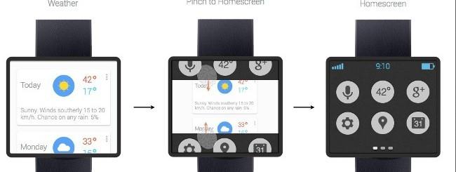 Concept smartwatch Google