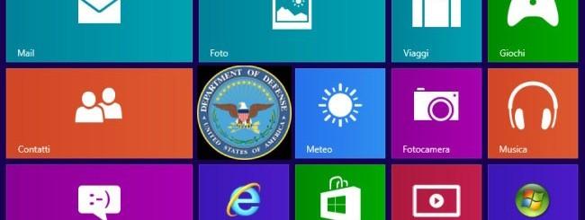 Dipartimento della Difesa - Windows 8