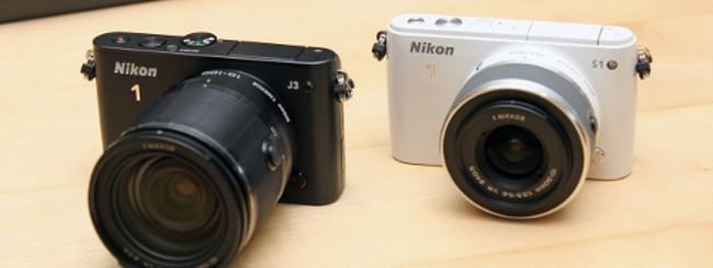 Nikon 1 S1 e 1 J3