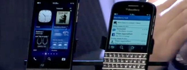 BlackBerry Z10 e BlackBerry Q10