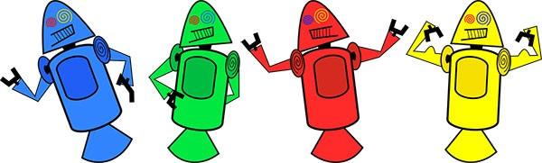 Dandroids, le mascotte originali di Android poi sostituite dal celebre Bugdroid