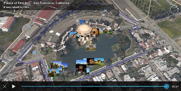 L'aggiornamento odierno di Google Earth introduce migliaia di nuove guide e un milione di fotografie per Tour Guide