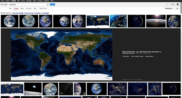 Confermato il restyling per il layout di Google Immagini: ecco la nuova interfaccia